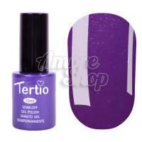 Гель-лак Tertio №185 (фиолетовый, микроблеск), 10 мл
