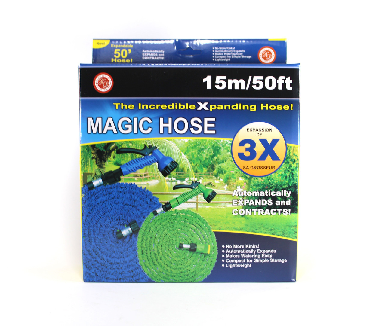 Шланг X HOSE 15m 50FT steel
