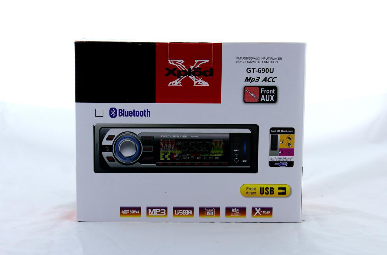 Автомагнитола MP3 690U ISO+Bluetooth