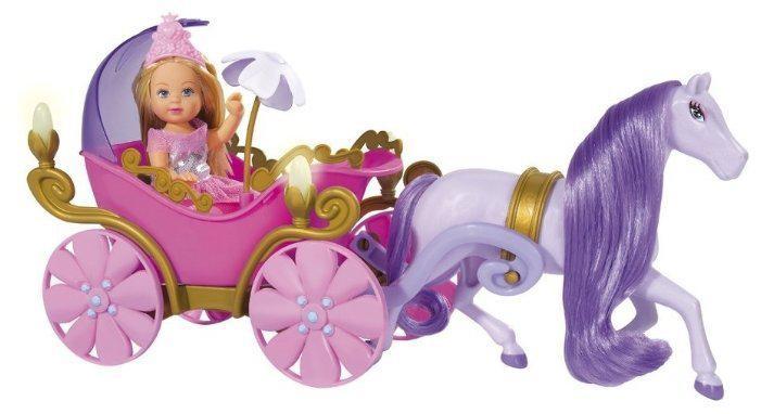 Кукла Еви в карете с лошадкой Evi Simba 5735754