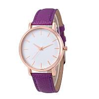 Часы женские наручные кварцевые Montre Femme Reloj Mujer c фиолетовым браслетом