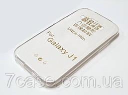 Чехол для Samsung Galaxy J1 j100 (2015) силиконовый ультратонкий прозрачный