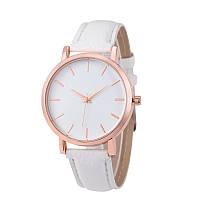 Часы женские наручные кварцевые Montre Femme Reloj Mujer c белым браслетом