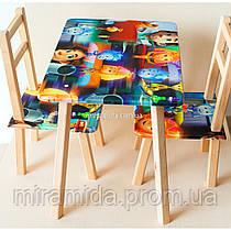 Столик со стульями Фиксики