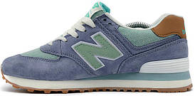 Кросівки жіночі, obuwie damskie Нью Беленс, баланси, Нью Баланс New Balance Buty 574 Beach Cruiser Pack Blue