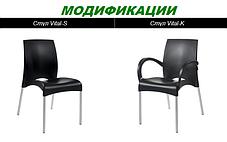 Стул Vital-S Оранжевый (Papatya-TM), фото 3