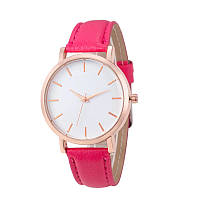 Часы женские наручные кварцевые Montre Femme Reloj Mujer c красным браслетом