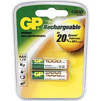 Аккумуляторная батарейка ААА (минипальчиковая) GP 1шт R03 1000mA ReCyko 100AAAHC-2GBE