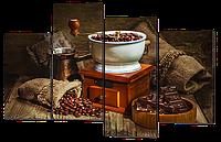 Модульная картина Зерна кофе