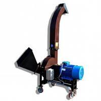 Подрібнювач деревини (Щепоріз) до 130 мм з електродвигуном 18,5 кВт