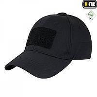 Бейсболка тактическая, Elite Rip-Stop, черная, M-Tac