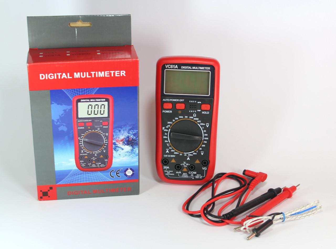 Цифровий мультиметр DT VC 61A