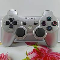 Джойстик Беспроводной SONY PS3 (Серебряный) , фото 1