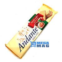 Вафли Andante Crispy Wafers with Hazelnut Cream Filling 130 g