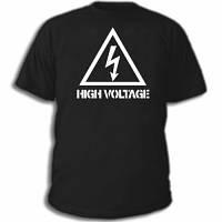 "Админские футболки ""High Voltage"""