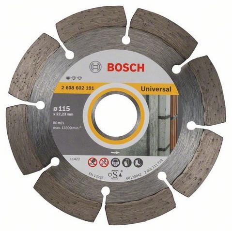 Алмазний відрізний круг Standard for Universal 115 мм BOSCH