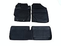 Полиуретановые  Коврики Для Салона Toyota Yaris III  LadaLocker (14-) 3D