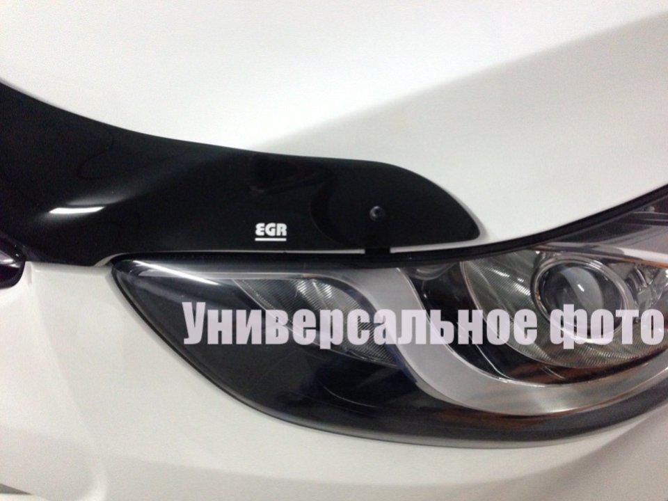 Kia Sportage Дефлектор капота мухобойка на для KIA КИА Sportage 2015-