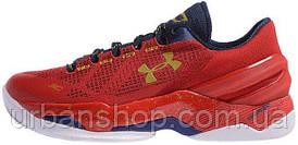 Кросівки чоловічі, obuwie męskie баскетбольні Under Armour Curry 2 Red
