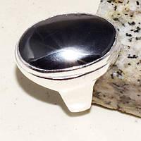 Гематит красивое кольцо с камнем гематит 17,5-18 размер. Кольцо с гематитом. Индия!, фото 1