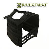 Плитоноска  Plate carrier Балистика М1 чёрная, фото 1