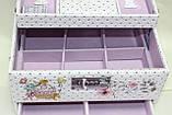 Сундучок для украшений, белый, Париж, кодовый замок, фото 8