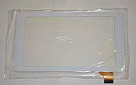Оригинальный тачскрин / сенсор (сенсорное стекло) для Assistant AP-714 (белый цвет, самоклейка, 186*104), фото 1