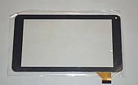 Оригинальный тачскрин / сенсор (сенсорное стекло) для Assistant AP-714 (черный цвет, самоклейка, 186*104)