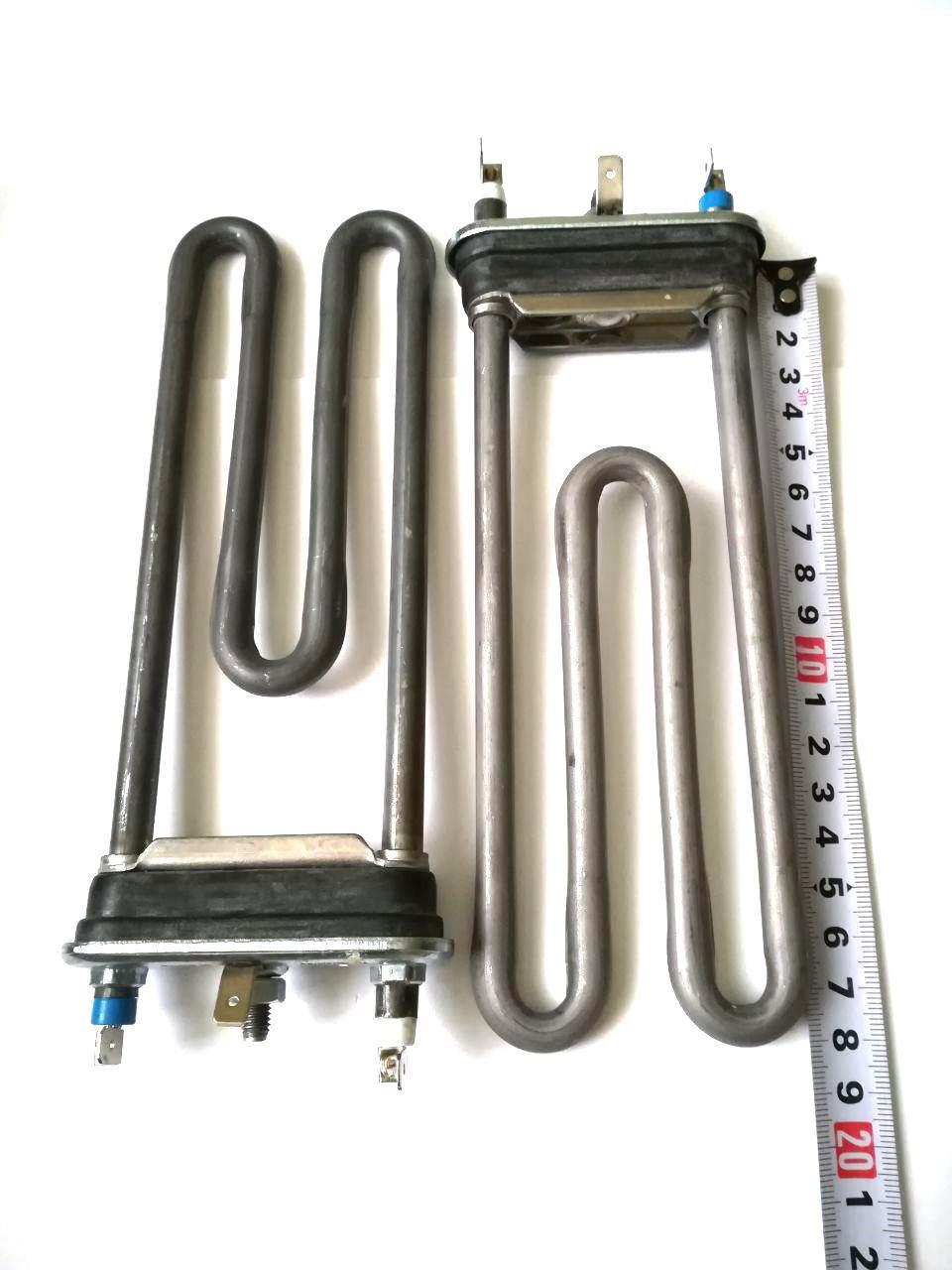 Тэн на стиральную машину 1900W (без отверстия под датчик) / L=175мм / Thermowatt (Италия)