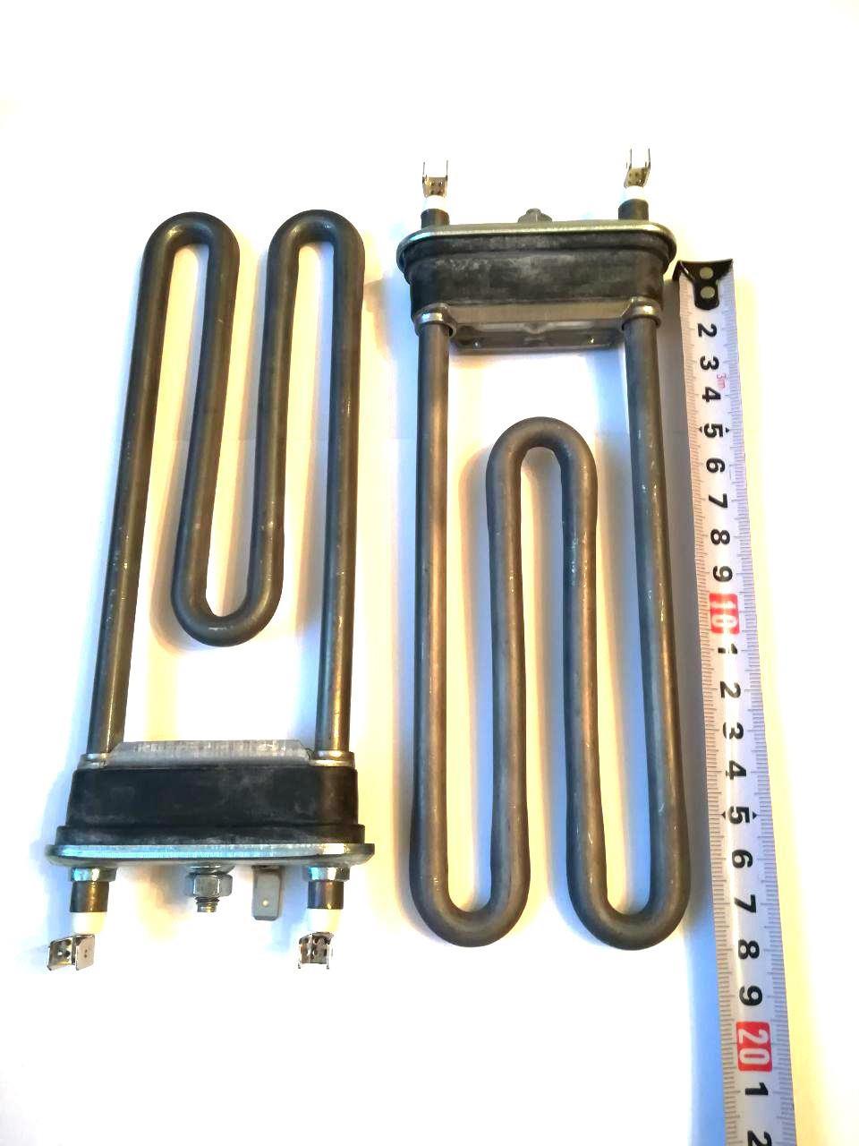 Тэн на стиральную машину 1950W / L=185мм (без отверстия под датчик)  / Thermowatt (Италия)