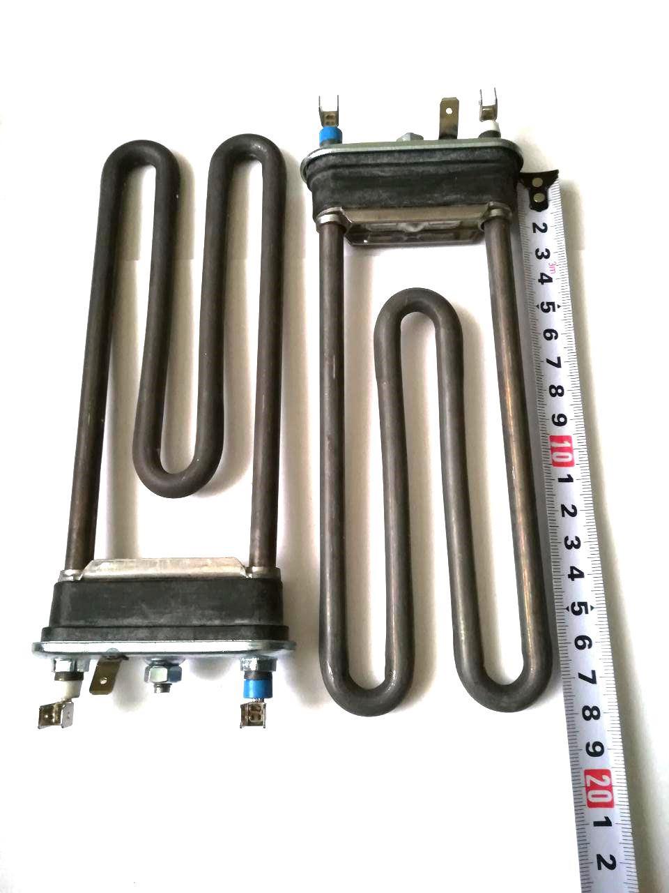 Тэн на стиральную машину 1500W / L=182мм (без отверстия под датчик)  / Thermowatt (Италия)