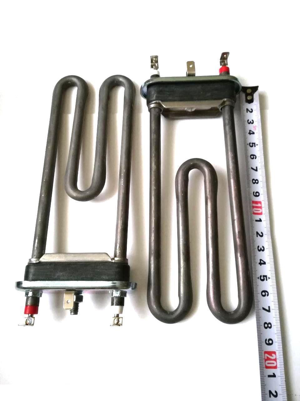 Тэн на стиральную машину 1900W / L=183мм (без отверстия под датчик)  / Thermowatt (Италия)