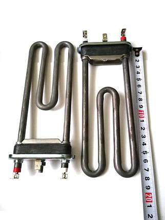Тэн на стиральную машину 1900W / L=183мм (без отверстия под датчик)  / Thermowatt (Италия), фото 2
