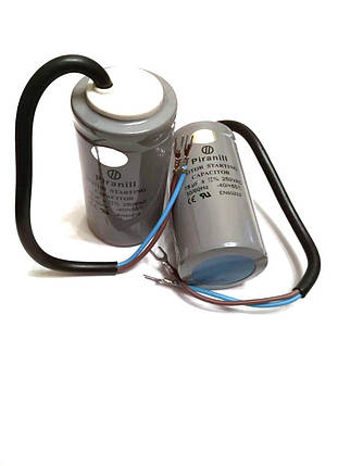 Конденсатор пусковой для электродвигателя Piranill CD60 75uF 250V, фото 2