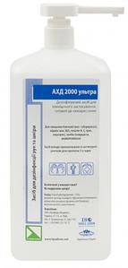 АХД 2000 ультра 1000мл. - для гигиенической и хирургической обработки рук и кожи