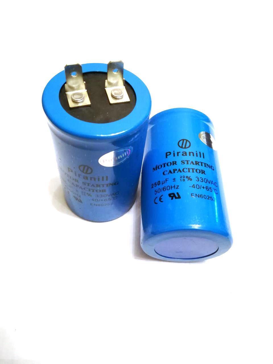 Конденсатор пусковой для электродвигателя CD60 250uF 330V