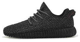 Жіночі, obuwie damskie кросівки Аdidas Yeezy Boost 350 Pirate Black, чорні, Адідас, Едідас ізі буст.