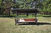 Качели садовые пятиместные Эмир, фото 1