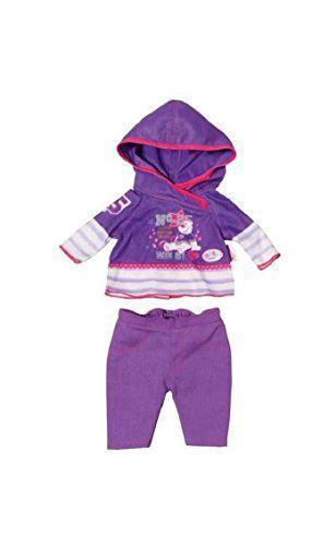 Одежда для Беби Борн Baby Born Спортивный костюм фиолетовый Zapf Creation 822166