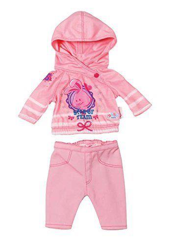 Одежда для кукол Беби Борн Спортивный костюм розовый Baby Born Zapf Creation 822166