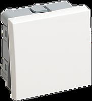 Выключатель одноклавишный на 2 модуля ПРАЙМЕР ВКО-21-00-П белый IEK