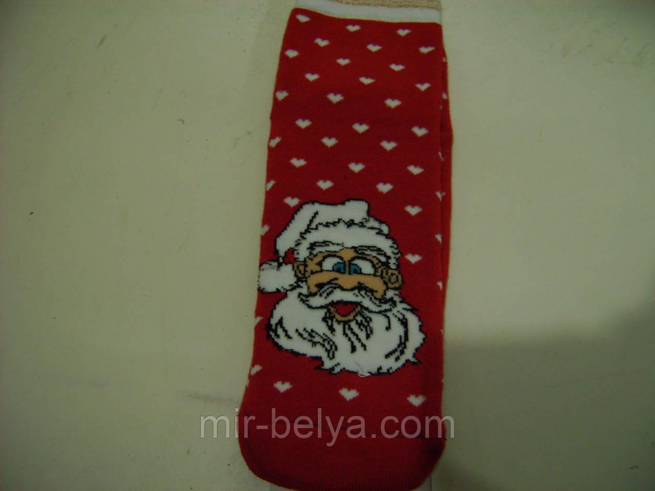 Женские новогодние махровые носки монтекс