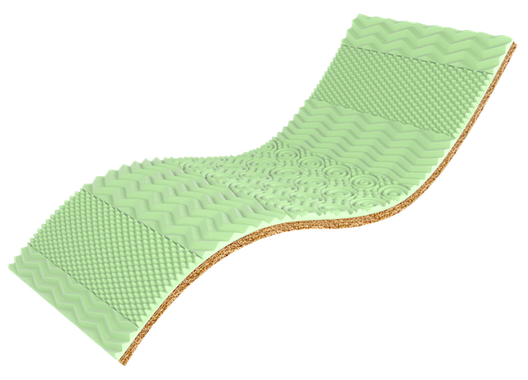 Мини матрас Green Kokos , фото 2