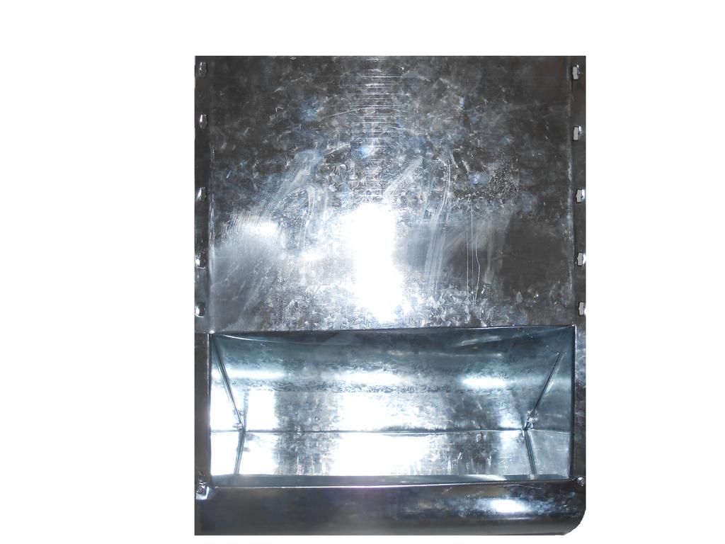 Бункерная кормушка для кроликов и др. грызунов на 8 литра удлиненная