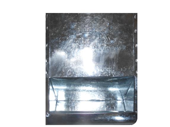 Бункерная кормушка для кроликов и др. грызунов на 8 литра удлиненная, фото 2