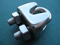 Нержавеющий зажим для троса, DIN 741, А4(AISI 316).