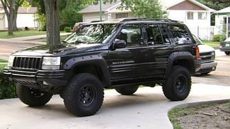Расширители арок Jeep Grand Cherokee ZJ фендеры тюнинг