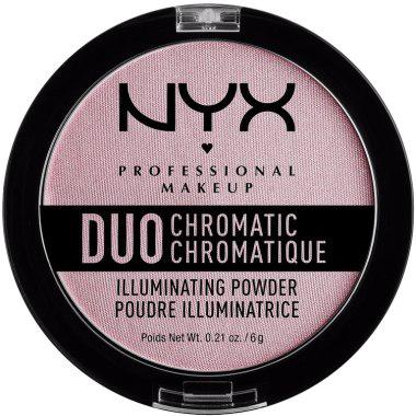Хайлайтер NYX Duo Chromatic Lavender Steel