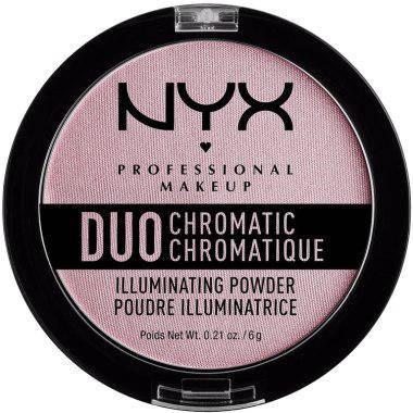 Хайлайтер NYX Duo Chromatic Lavender Steel, фото 2