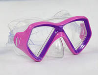 Маска для плавания (розовая)